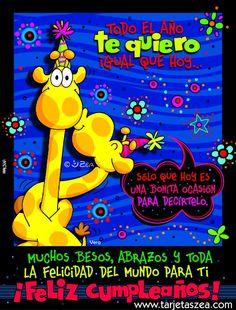 La ocasión perfecta-Tarjeta de cumpleaños-Vera © ZEA www.tarjetaszea.com