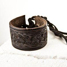 Pulsera Upcycled recuperado joyas reconstruido rehecho