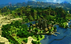 Cathédrale proche de la nature | Minecraft Creations