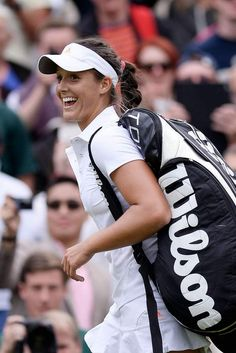 Laura Robson first round match on day two of the Wimbledon Tennis Championships June 25-2013 #WTA #Robson #Wimbledon