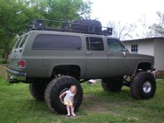 1988 chevy suburban lifted - Google Search
