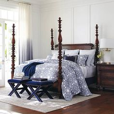 North River Four Poster Bed From Bernhardt Martha