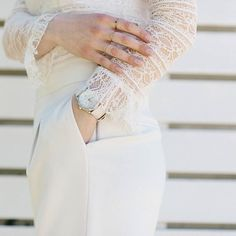 Always classy ✨  on zkstyle.com  #newpost #May #formal #white #trousers #lace #zara #vintage #timemess #ootd #fashion #minimal #monochrome #stylegram #stylish #trend #fashionista #chic #instadaily #lookoftheday #outfitinspiration #styleoftheday #tb #wiwt #bloggerstyle #bloggerlife #lookbook #nofilter #fashionblogger #zkstyle
