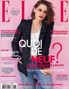 Elle France August 19th, 2016 : Kristen Stewart by Matt Jones