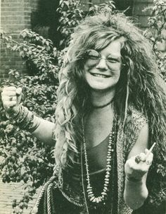 The greatest white female rock singer of the 1960s, Janis Joplin was also a great blues singer, making her material her own with her wailing, raspy, supercharged emotional delivery. Description from deviantart.com. I searched for this on bing.com/images