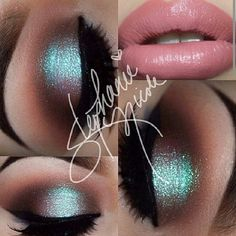 ♥ This looks like the Blue Brown pigment by Mac or Insomnia by Make Up Geek.