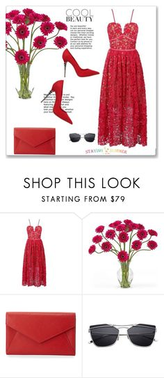 """""""Staying Summer 20"""" by emina-turic ❤ liked on Polyvore featuring Nearly Natural, Neiman Marcus and Le Silla"""