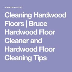 Check out these quick tips for cleaning and protecting your hardwood floors. Just use the right cleaning products and your flooring will look good for years to come. Cleaning Wood Floors, Floor Cleaning, Cleaning Hacks, Bruce Hardwood Floors, Hardwood Floor Cleaner, Flooring, Polish, Diy, Cleaning Hardwood Flooring