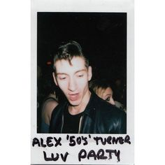 edit polaroid Arctic Monkeys Alex Turner not revords alex 50's turner ❤ liked on Polyvore featuring home, kitchen & dining, pictures, fillers, arctic monkeys and polaroid