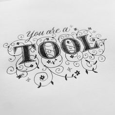 Break bad news gently with calligraphy by Seb Lester, via Behance
