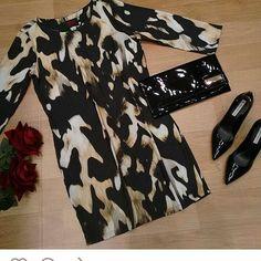 A estampa animal Print já é um clássico na moda, onça, zebra e leopardo aparecem nas roupas em qualquer estação!! #MOIKANA