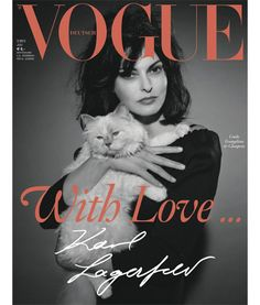 choupette on the cover of vogue
