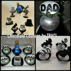 Chocolate Couture by TRACI.. 1800 Chocolate shot glasses  Chocolate cvrd Oreos  Strawberries with EDIBLE (DAD) picks.. U.S. PATENT 20120328742 Decorative Toothpick Mold