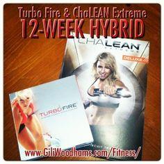 #TurboFire & #ChaLEAN Extreme Hybrid www.GiliWoodhams.com