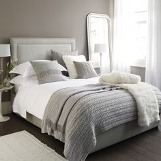 The White Company - love this bedding!