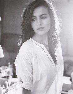 Camilla Belle. i think she is so pretty & she's the spokesmodel for my perfume!