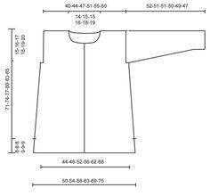 "Rita - Knitted DROPS jacket in garter st in 2 strands ""Puddel"". Size: S - XXXL. - Free pattern by DROPS Design"