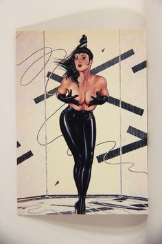 L008686 Olivia DeBerardinis 1992 Card #47 - Auto Gyro 1989 / Pin-Up Art