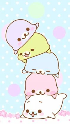 Mamegoma Wallpaper... Why does it have to be so cute?