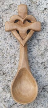 I first started carving Welsh Love Spoons for our daughter's wedding in 2008. This evolved into carving individual Celtic Knots. Like the crosses that I have designed and made, each spoon or knot is a wonderful vehicle that celebrates how we are woven into a beautiful design.  The points of intersection where the 'life-line' overlaps (where relationships are created) is where the story of each design is expressed. Some are original designs. Some use traditional symbols. The knots and spoons…