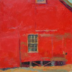an unusual twist to the red barn by Dan Pinkham