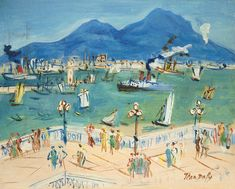 Jean Dufy (brother of Raoul Dufy) Manet, Renoir, Raoul Dufy, Living In San Francisco, Art Folder, Georges Braque, Scenic Design, Art Graphique, French Artists
