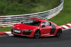 My dream car just got green!  Audi R8 e-Tron sets a lap record at Nurburgring.  I can just see myself in the driver's seat now!  :-)