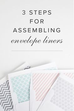 How to insert envelope liners from Shine Wedding Invitations!