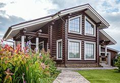 Деревянный дом на Оке | Архитектурные проекты | Журнал «Красивые дома»