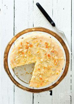 easter cassata - vanilla cake with cinnamOn ricotta cream & citrus glaze