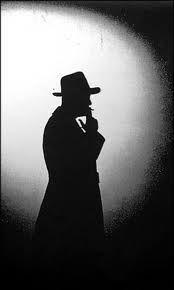 Film Noir Detective - Character Inspiration - DEATH Silhouette film noir detective - Google Search