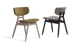 Upholstered stackable fabric chair ECO 500T Eco Collection By Capdell design Carlos Tiscar