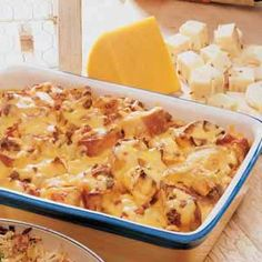 Chili Cheese Strata Recipe -This do-ahead casserole has a south-of-the-border flavor. Adjust the chilies and salsa to suit your tastes.