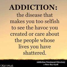 addict husband blames me