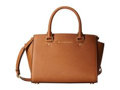 MICHAEL Michael Kors Selma Medium Tz Satchel Luggage