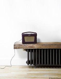 Radiateur fonte neuf style r tro lectrique d coration pinterest - Radiateur fonte design ...