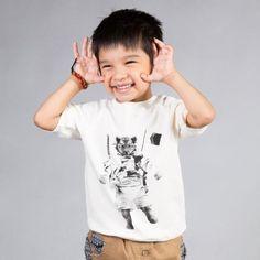 Mini&Maximus 'Tiger on the Moon' Sweatshirt Tee | PRSPR