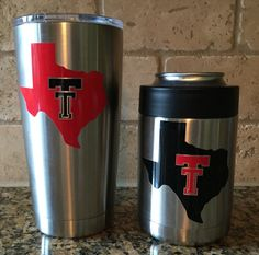 Looking for some last minute Valentine's presents for that special someone? These Texas Tech Yeti's by BurlapPillowsEtc would be perfect!!!