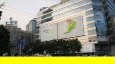 Wieden + Kennedy | China | Nike | Live knitting billboard