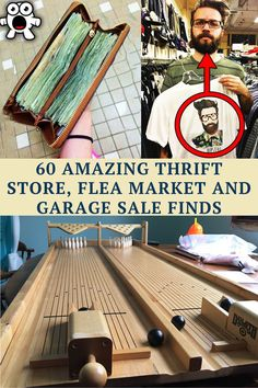 Here are 60 of the best thrift store, flea market, and garage sale finds.