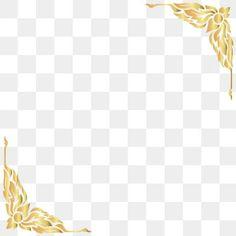Cartoon thai pattern border PNG and Vector Thai Pattern, Gold Pattern, Vintage Grunge, Color Vector, Vector Design, Background Templates, Background Patterns, Border Terrier, Frame Floral