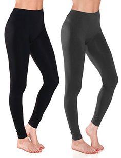 3 Womens Leggings Set Ankle Length Footless Seamless Stretch Black White Navy !