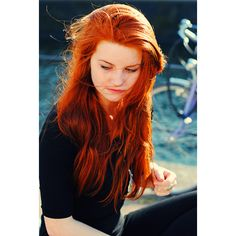 red hair   Tumblr found on Polyvore