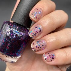 """""""Polka•Com"""" by @opi is a super fun topper! Looks great alone, or over dark or light colors really. I will be sharing some fun toppers I… Opi, Some Fun, Light Colors, Looks Great, Nails, Beauty, Dark, Finger Nails, Ongles"""