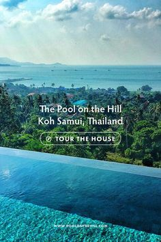 Rent this pool villa in Thailand: Freshwater pool, rainwater showers & more – The Pool on the Hill is A Koh Samui villa and vacation rental for families – near Choeng Mon Beach in Koh Samui, Thailand. See inside, take a house tour and book your stay at www.poolonthehill.com/?utm_content=buffer89f59&utm_medium=social&utm_source=pinterest.com&utm_campaign=buffer