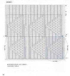 Schemi ai ferri giapponesi: i simboli e la loro traduzione / Japanese knitting charts: symbols and translation