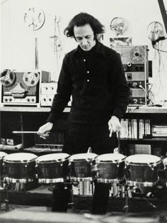 Steve Reich - minimalist composer who's work will also be featured in The Glass Project.