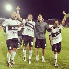 Vamos por la Cuarta!!! Olimpia, finalista de la Copa Libertadores de América 2013
