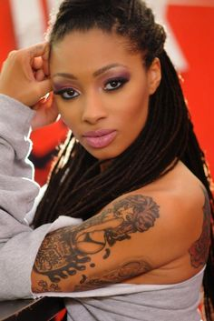 Dutchess Lattimore - Black Ink Crew - locs dreadlocks dreads