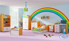 Dětský pokoj Rainbow - Eurosedačky